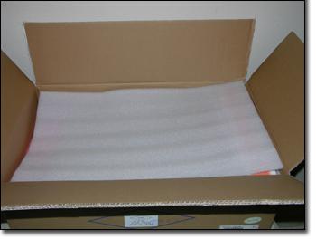 LeadTek WinFast GTX260 Extreme+ cardboard box open
