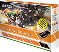 LeadTek GTX260 Extrem+ Box