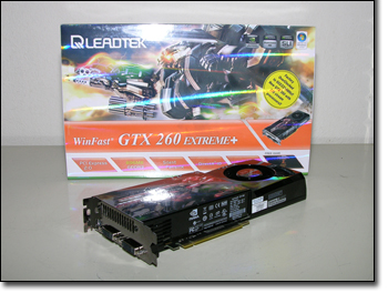 LeadTek WinFast GTX260 Extreme+ Front