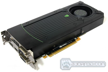 Nvidia GeForce GTX 670 Review - Front View