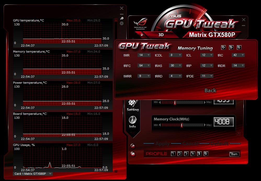 ASUS Matrix GTX 580 Platinum - Bjorn3D com